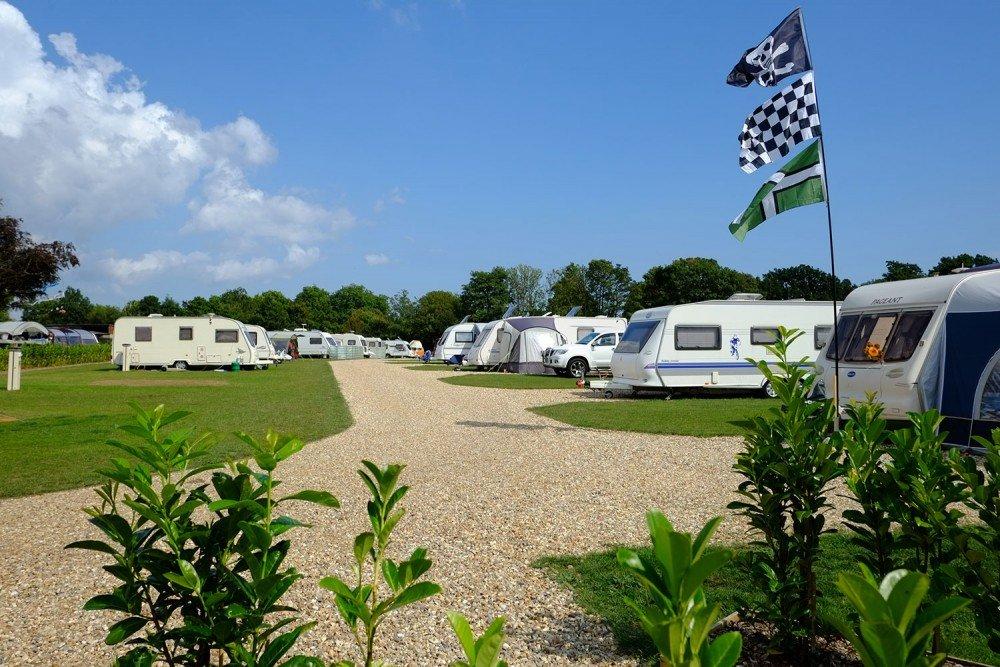 South Lytchett Manor new paddock