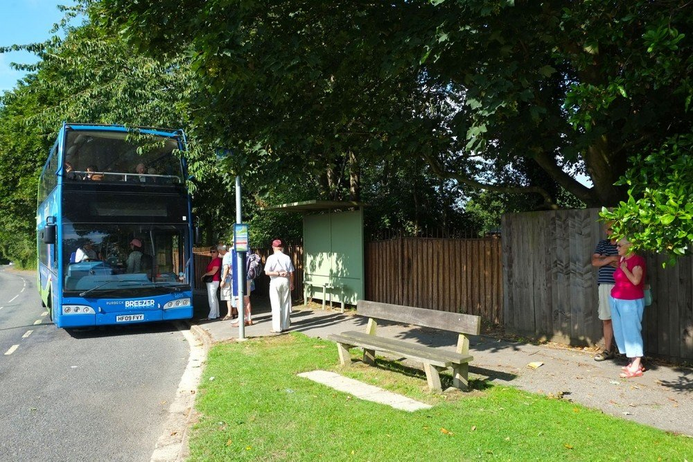 South Lytchett Manor convenient bus services that leave from right outside the main gates