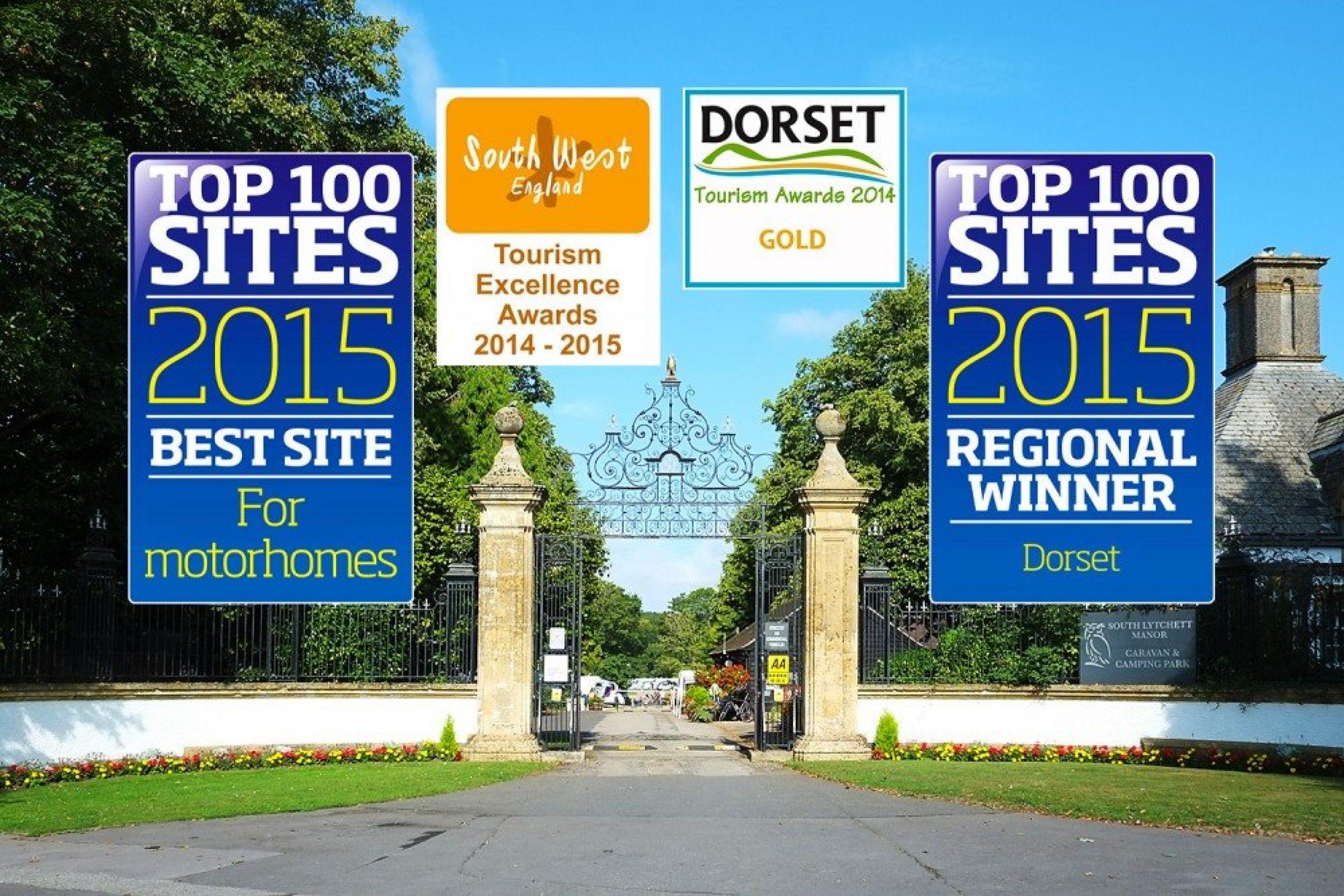 Top park in UK for motorhomes