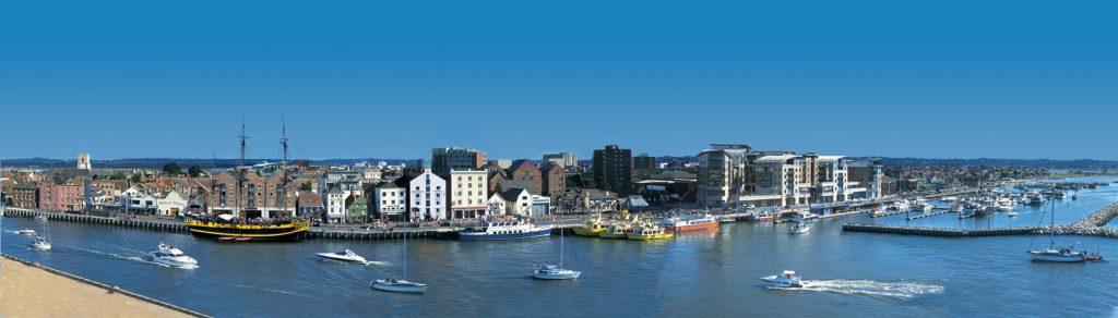 Poole Tourism. Poole Quay Panoramic