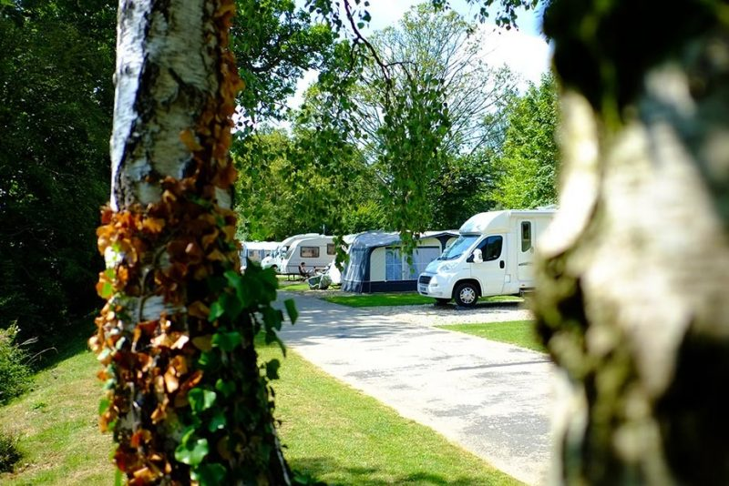 South Lytchett Manor Caravan and Camping Park Happy Campers ツ