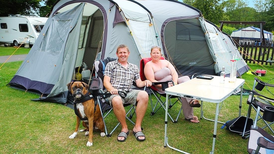 South Lytchett Manor Camping
