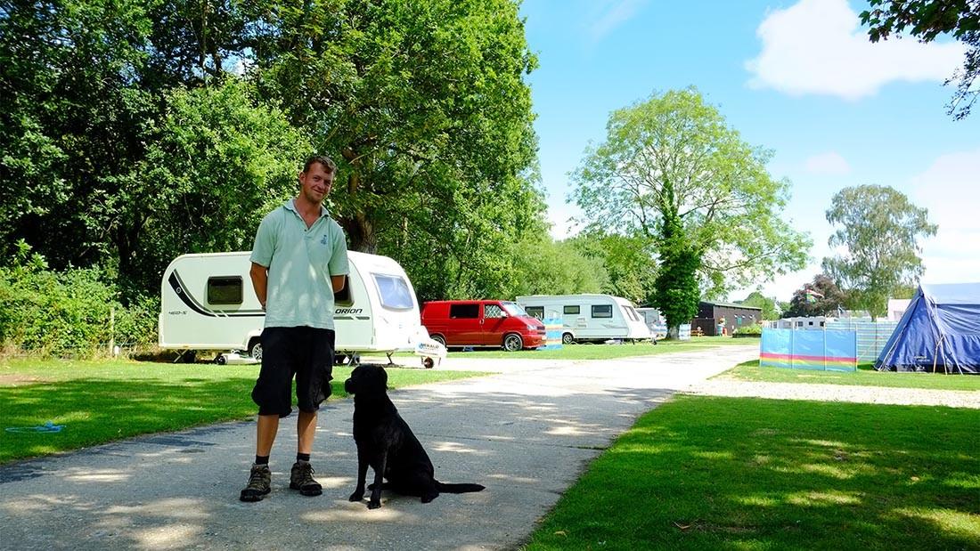 South Lytchett Manor Caravans