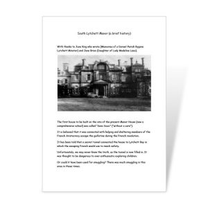 South Lytchett Manor History