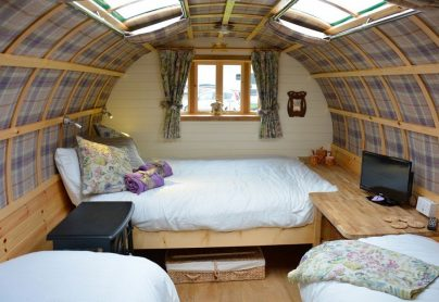 Dorset Glamping Holidays. South Lytchett Manor Caravan and Camping Park Romany Escape