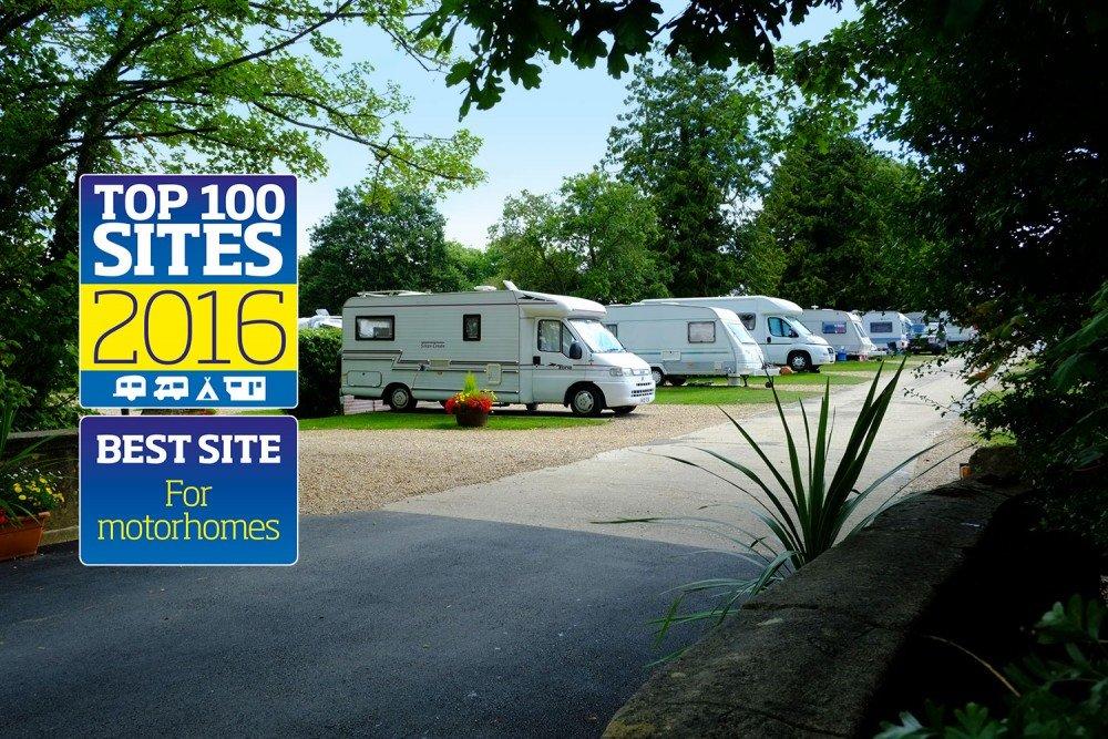 2016 Best UK Site for Motorhomes