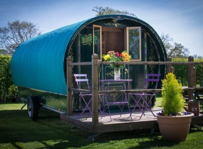 Dorset glamping holiday at South Lytchett Manor.