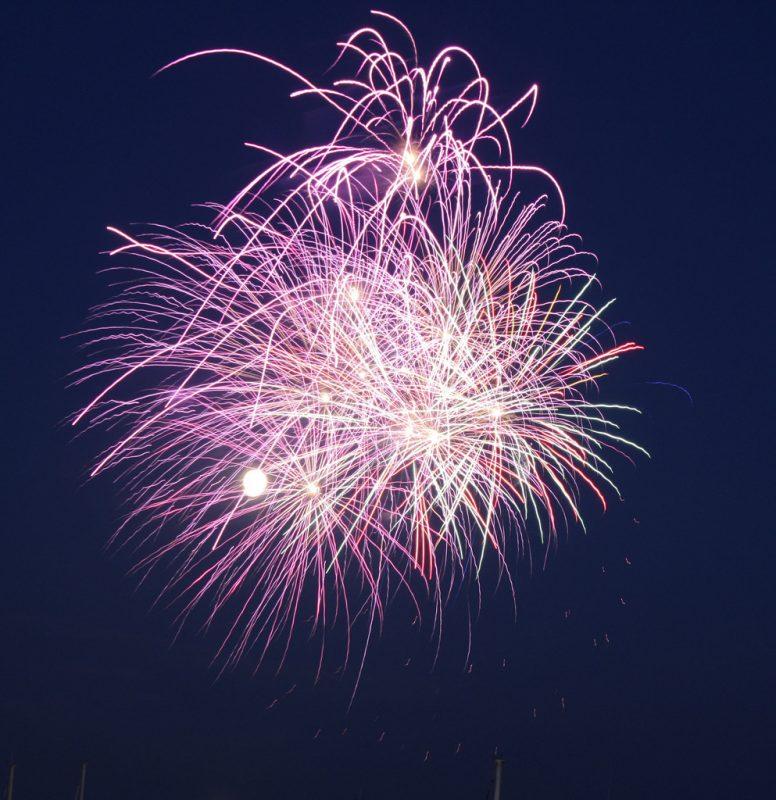 Poole Quay fireworks
