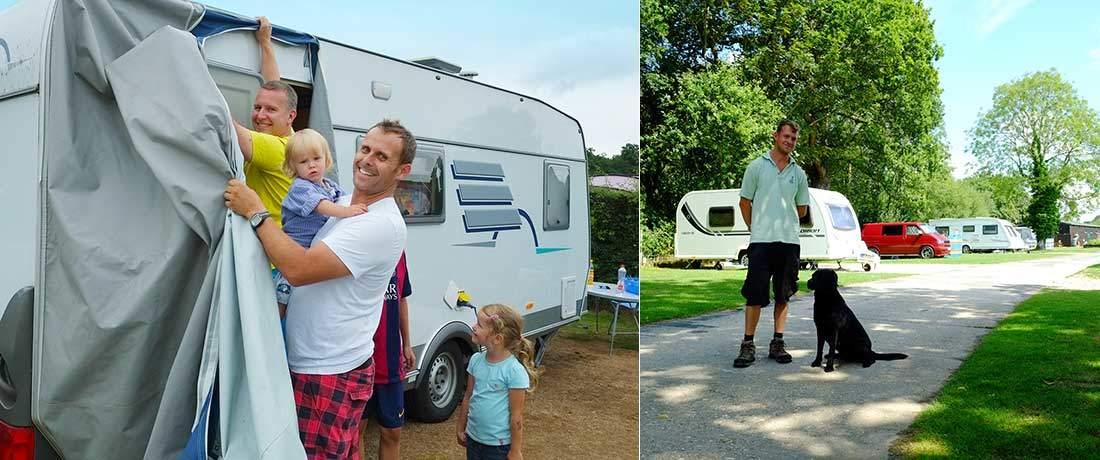 South Lytchett Manor Caravan Park Caravan sites in Dorset