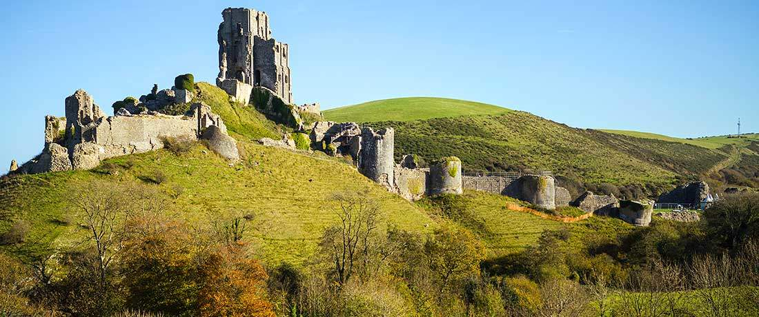 South Lytchett Manor Out & About Corfe Castle
