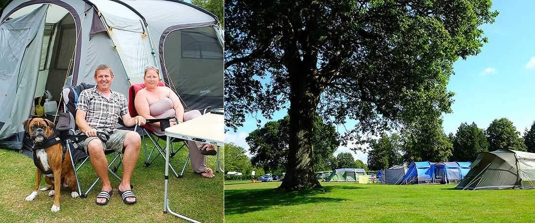 South Lytchett Manor Camping in Dorset