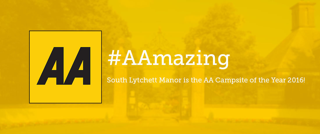 South Lytchett Manor AA Campsite of the Year Dorset Campsite
