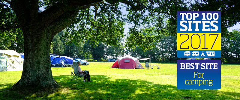 South Lytchett Manor Best site Best Camping Site in Britain 2017 South Lytchett Manor Camping in Dorset