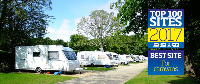 Best Caravan Park in Britain 2017 Best site Caravan sites in Dorset