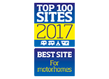 Top 100-2017 Best site for Motorhomes