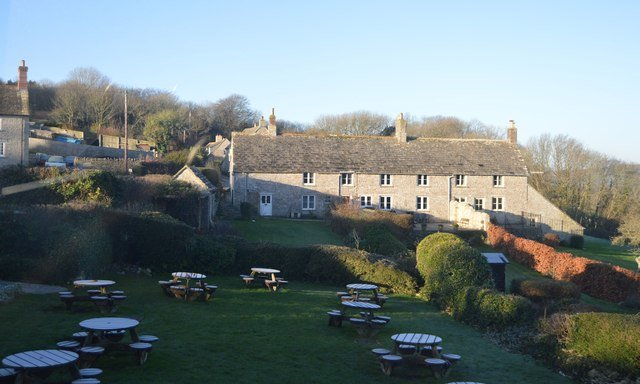 Scott Arms garden.