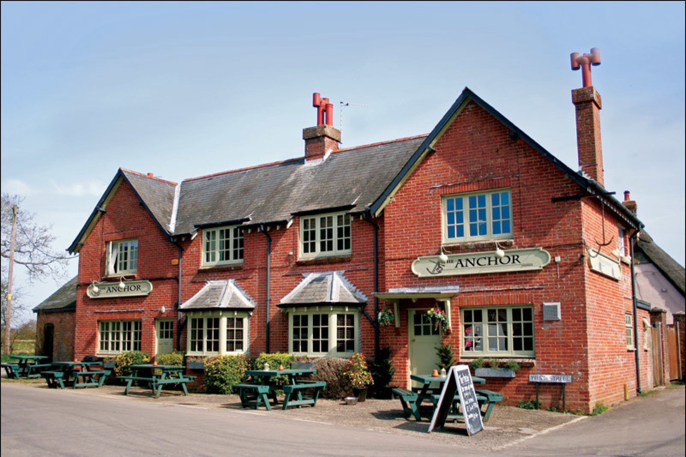 The Anchor Inn is one of the best countryside pubs in Dorset.