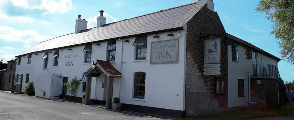 The Countryman Inn is one of the best countryside pubs in Dorset.