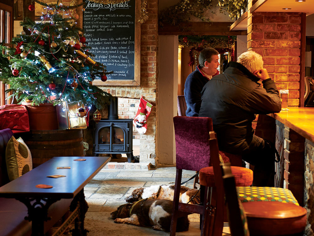 The Greyhound in Sydling is a cosy country pubs in Dorset.