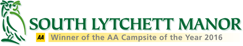 South Lytchett Manor Caravan and Camping Park Sticky Logo Retina