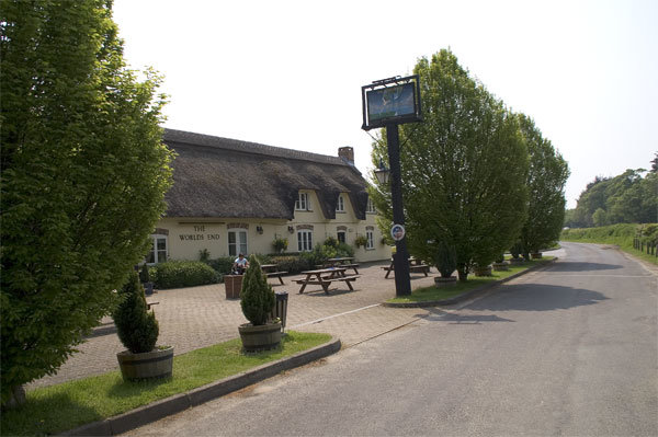 The Worlds End is one of the best countryside pubs in Dorset.