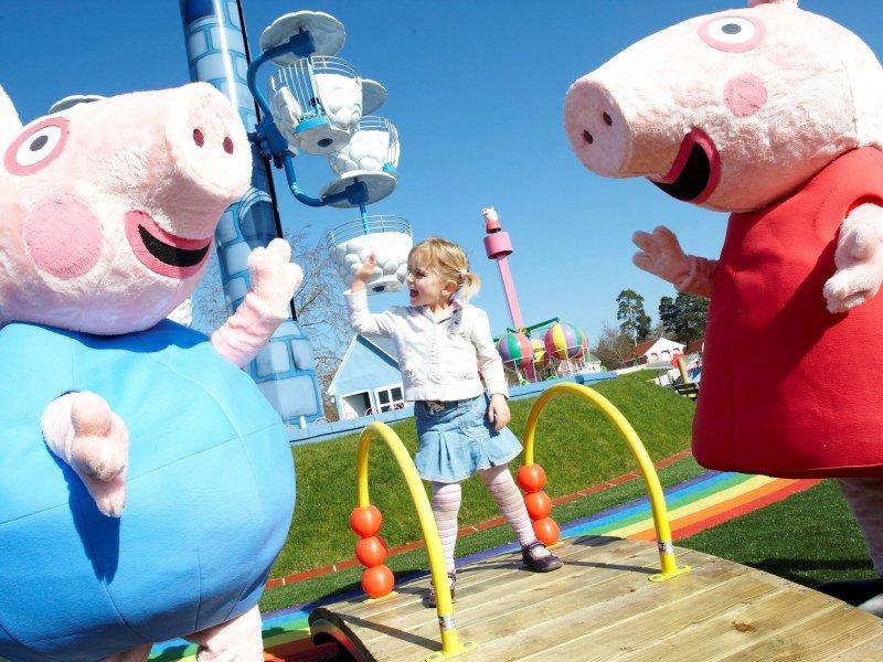 Peppa Pig World at Paulton Park