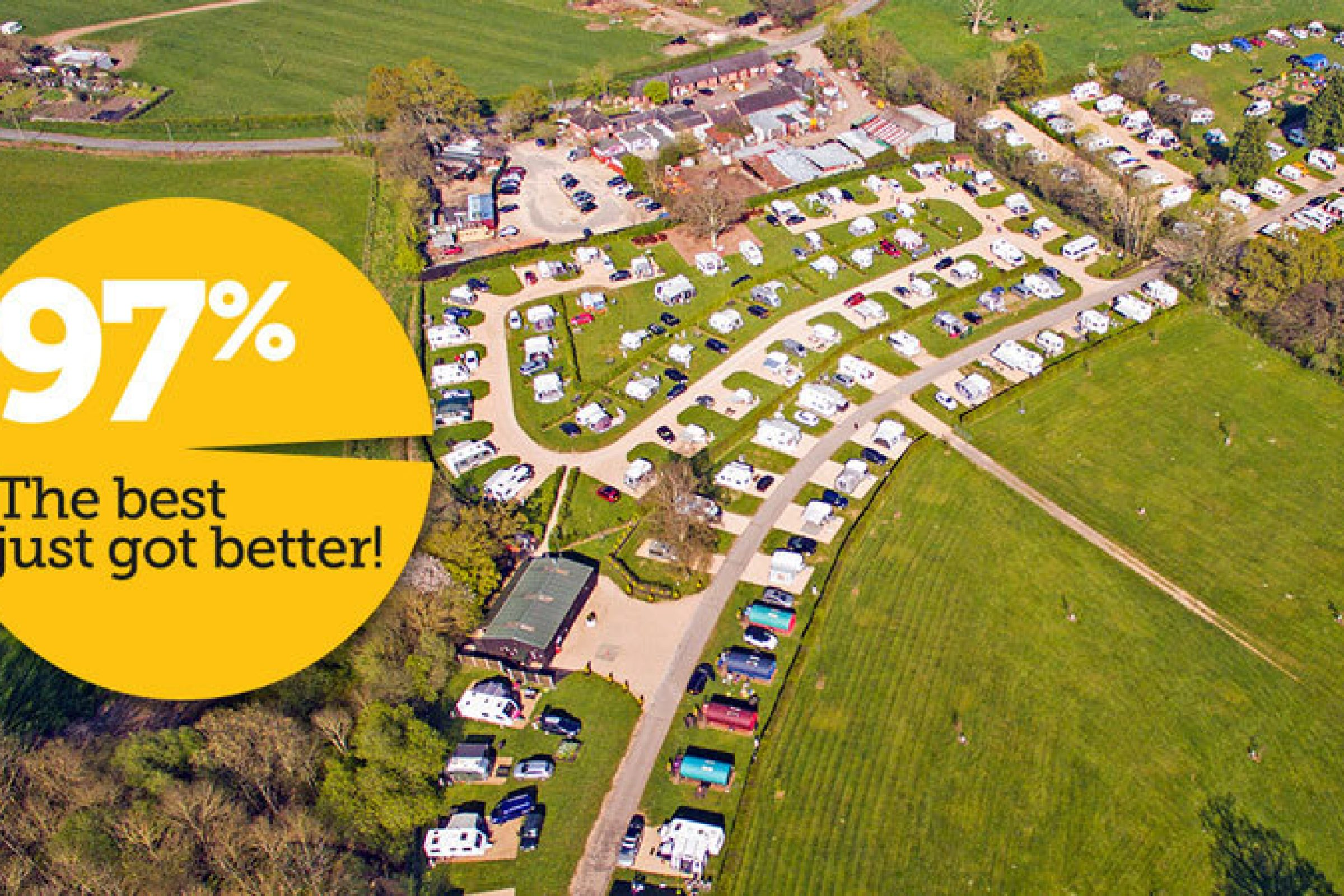 The best just got better! South Lytchett Manor's AA quality score now 97% 01