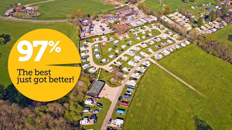 The best just got better! South Lytchett Manor's AA quality score now 97% 01