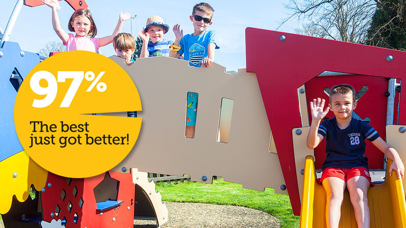 The best just got better! South Lytchett Manor's AA quality score now 97% 02