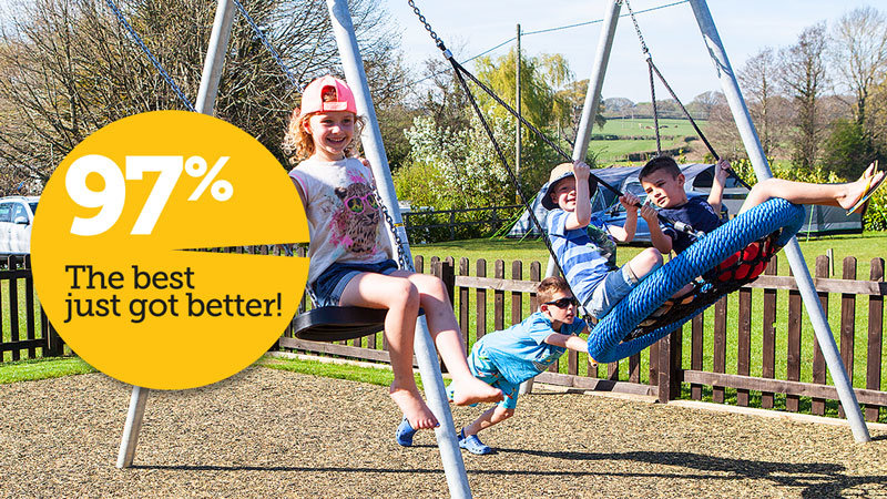 The best just got better! South Lytchett Manor's AA quality score now 97% 04