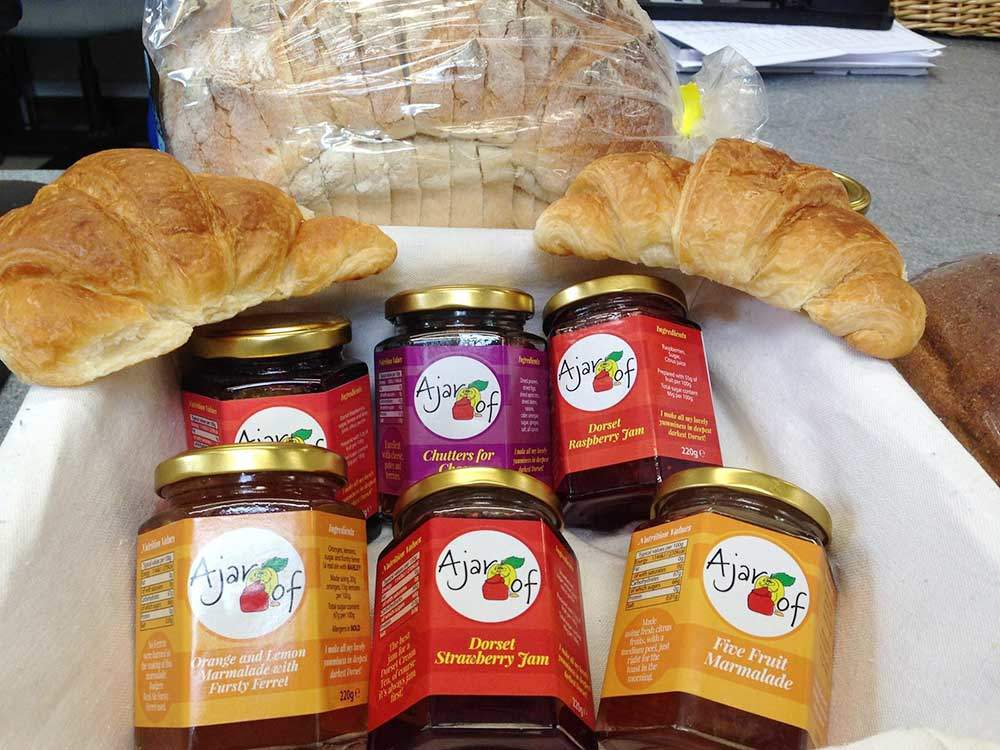 A day in the life of a campsite assistant. South Lytchett Manor Bread and Jam