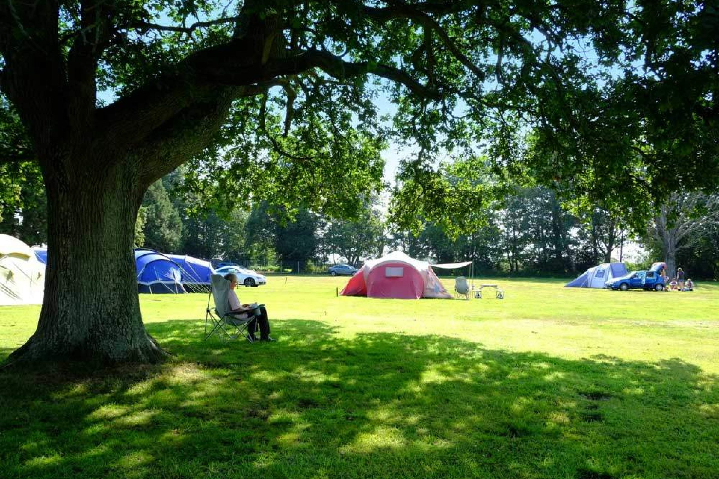 A day in the life of a campsite assistant. South Lytchett Manor Camping