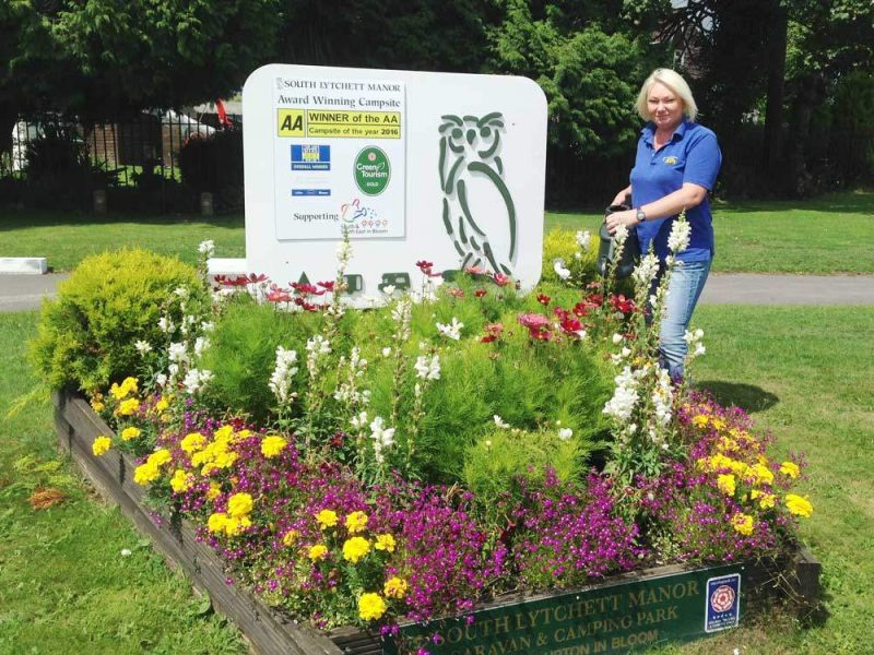 A day in the life of a campsite assistant. South Lytchett Manor Green Tourism