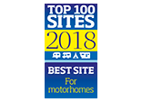 Top 100-2018 Best site for Motorhomes