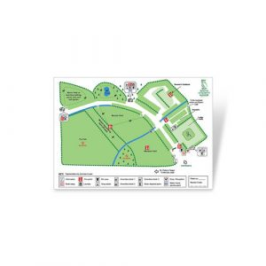 South Lytchett Manor Site Map
