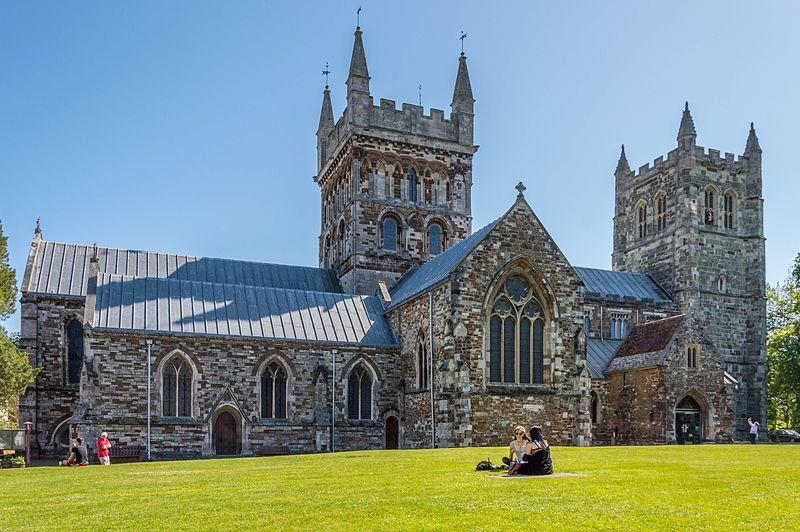Wimborne Minster Church.