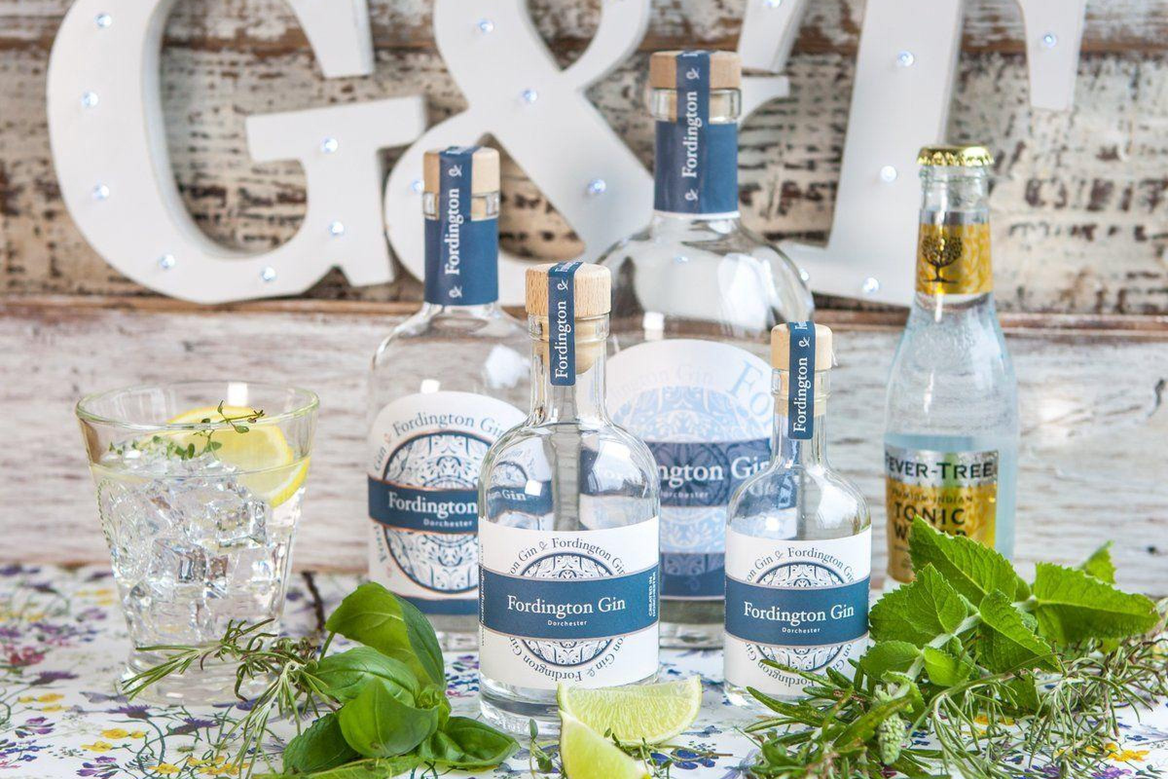 Fordington Gin is made in Dorchester Dorset