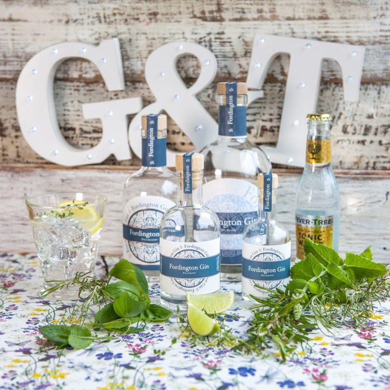 Fordington Gin is made in Dorchester Dorset