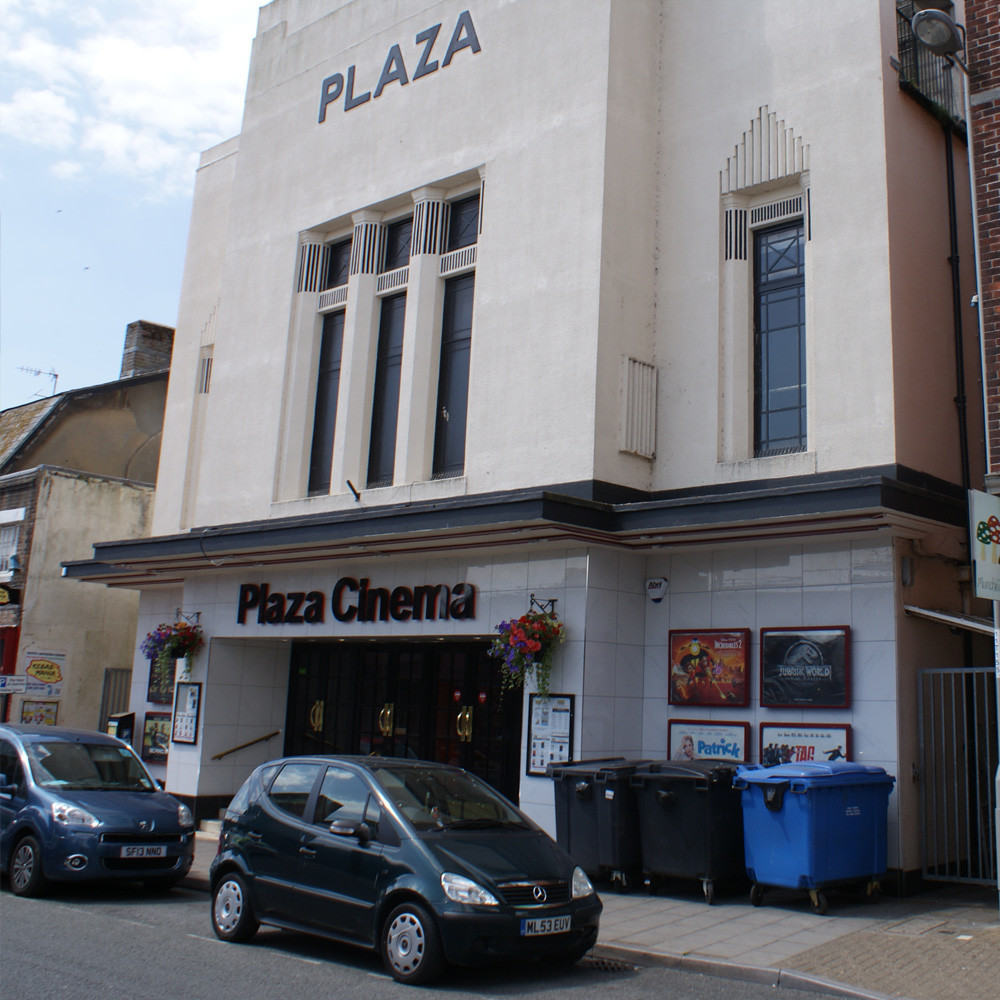 The Plaza Cinema in Dorchester.