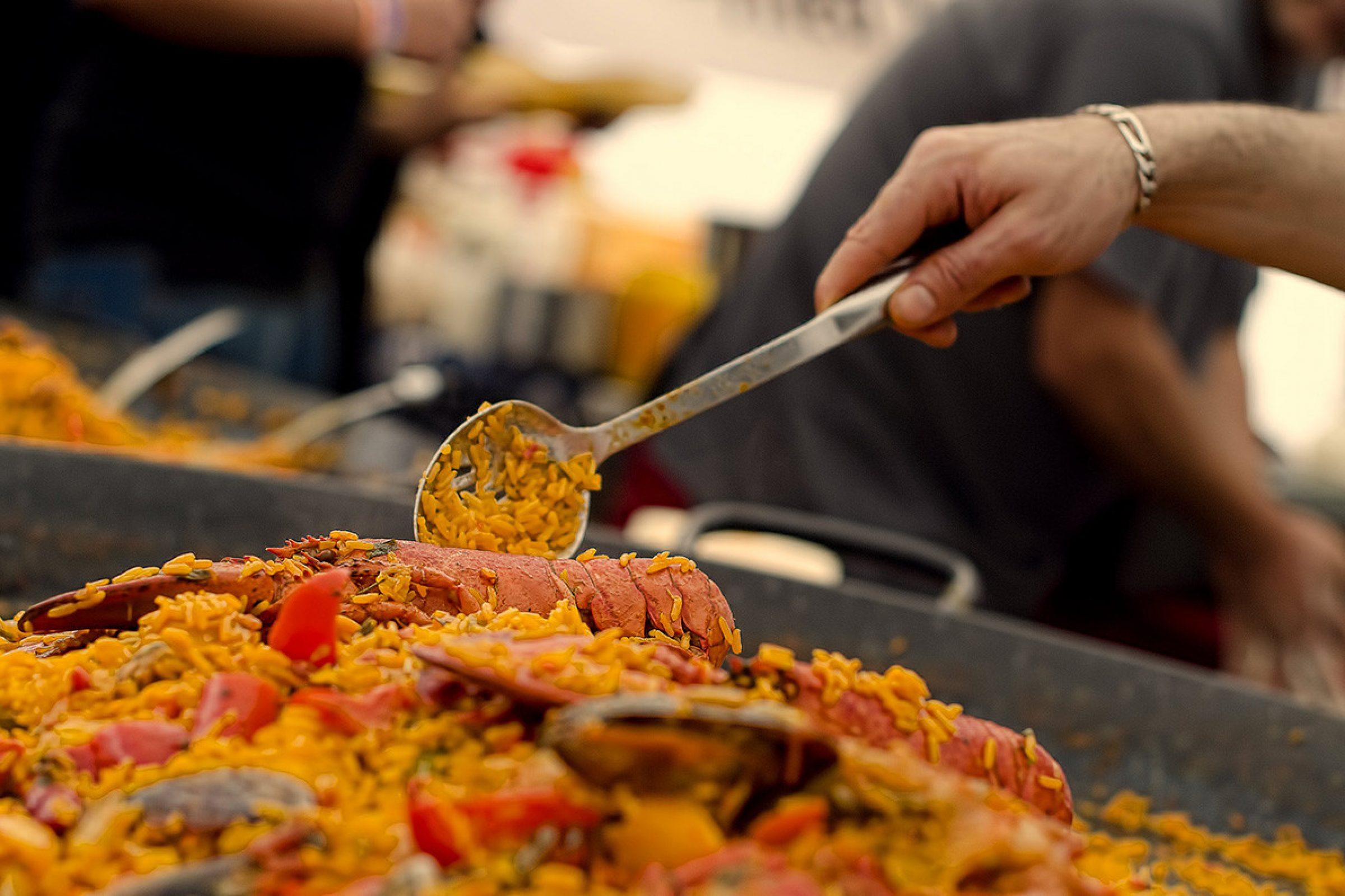 dorset seafood festival paella
