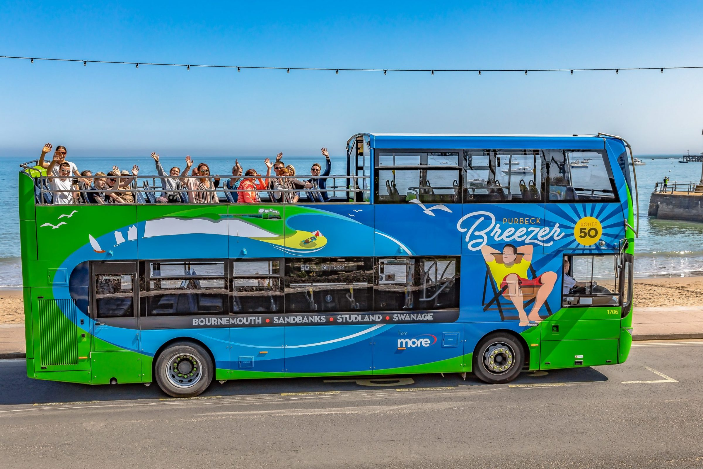 Purbeck Breezer bus route 50