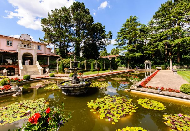 compton acres italian garden