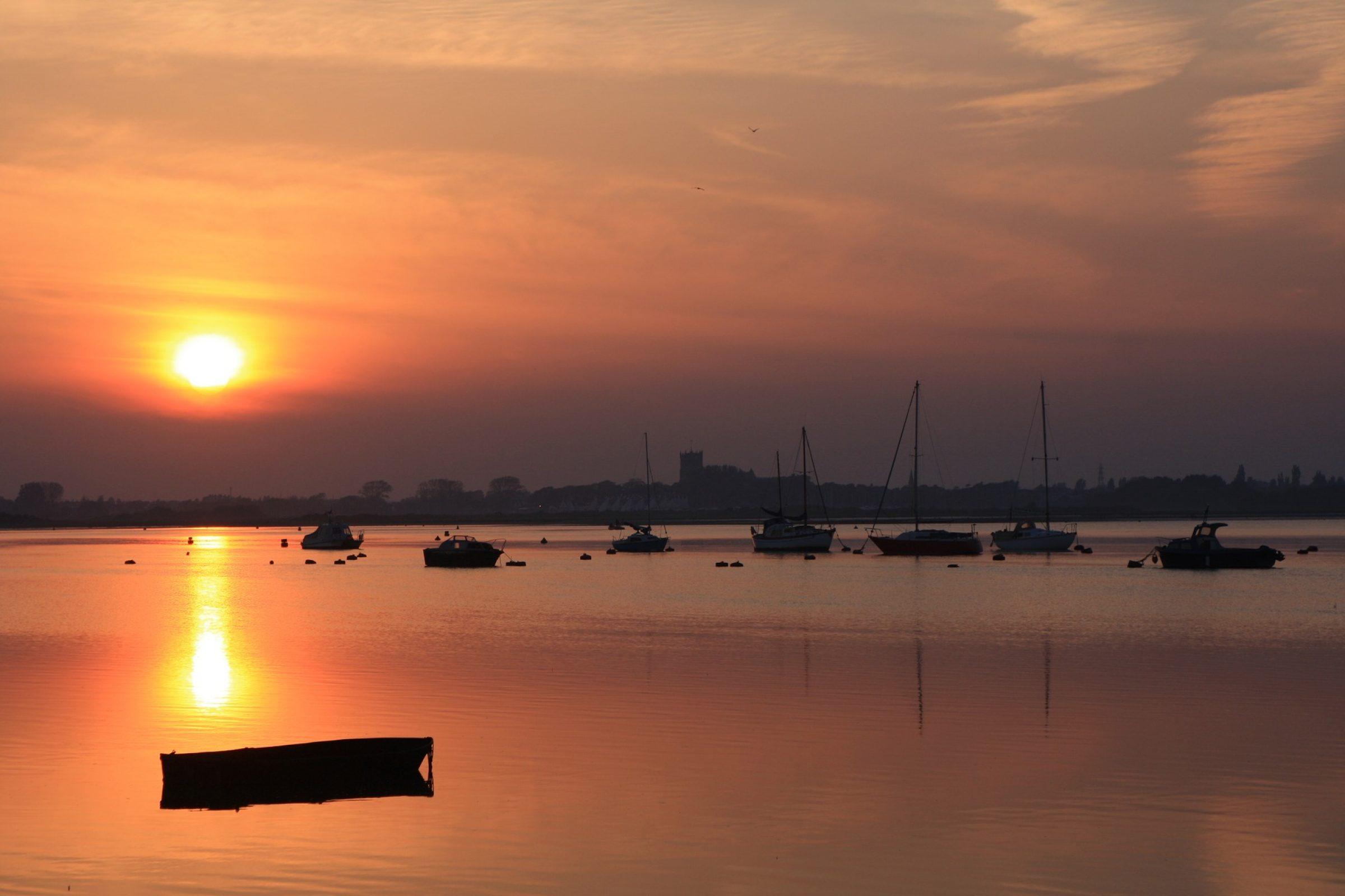 Christchurch sunset