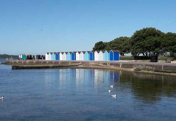 Hamworthy Park Beach