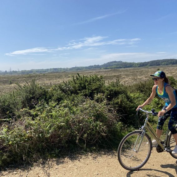 cycle paths near south lytchett manor