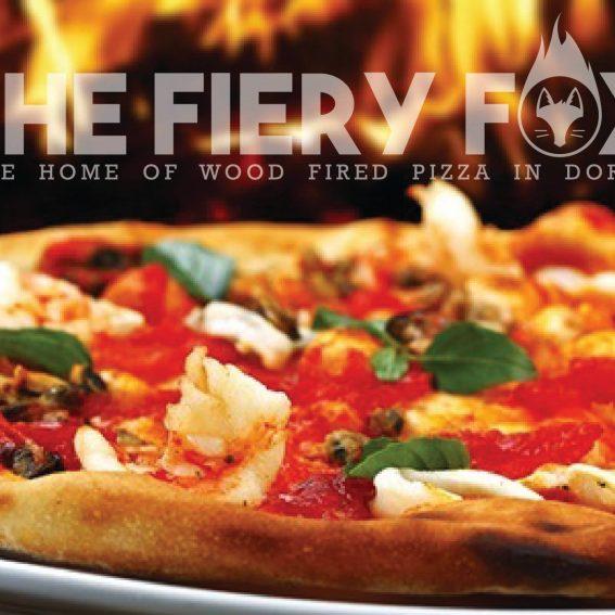 the fiery fox wood fired pizza