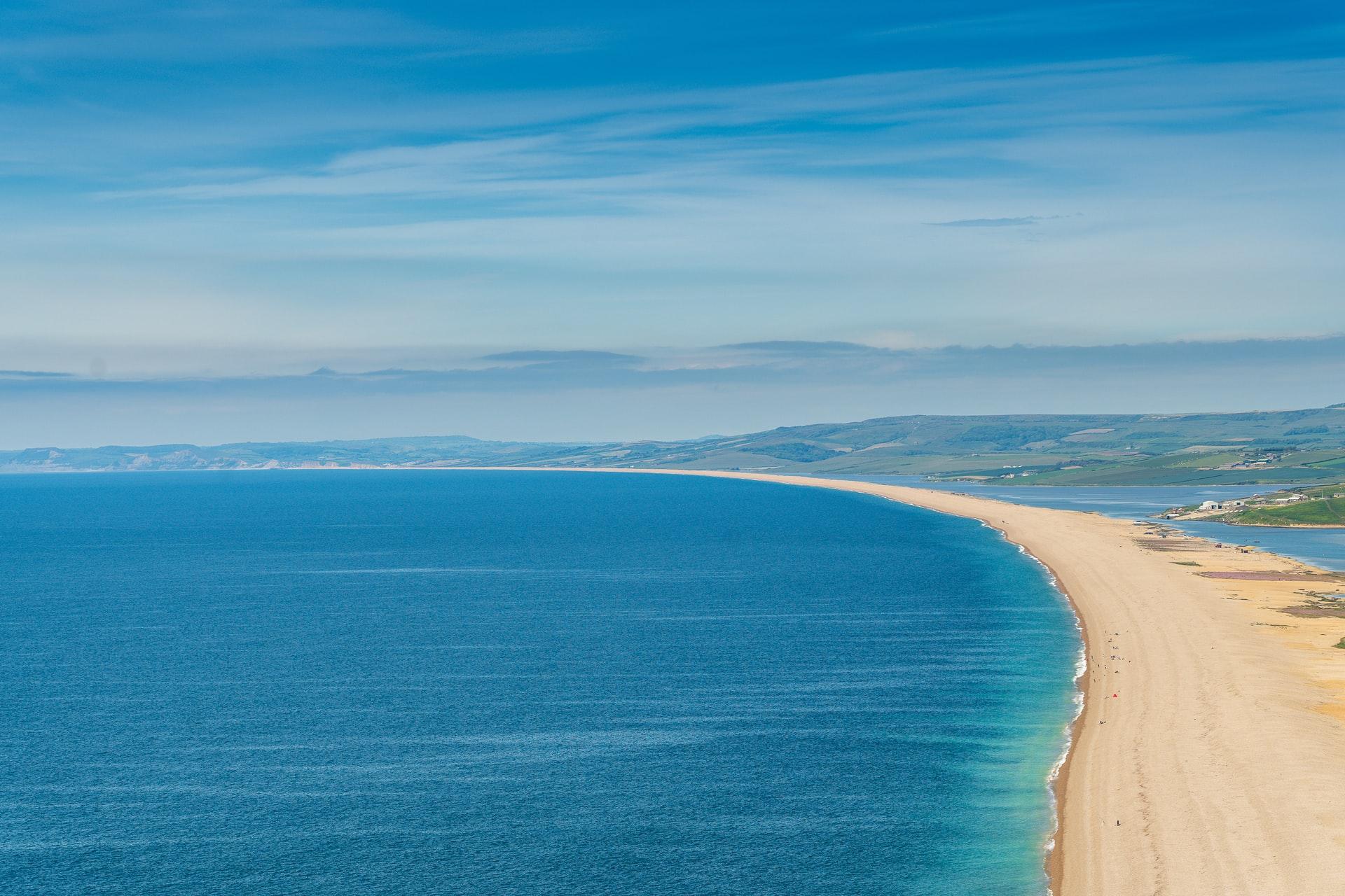 Chesill beach from portland