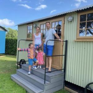 family glamping holiday