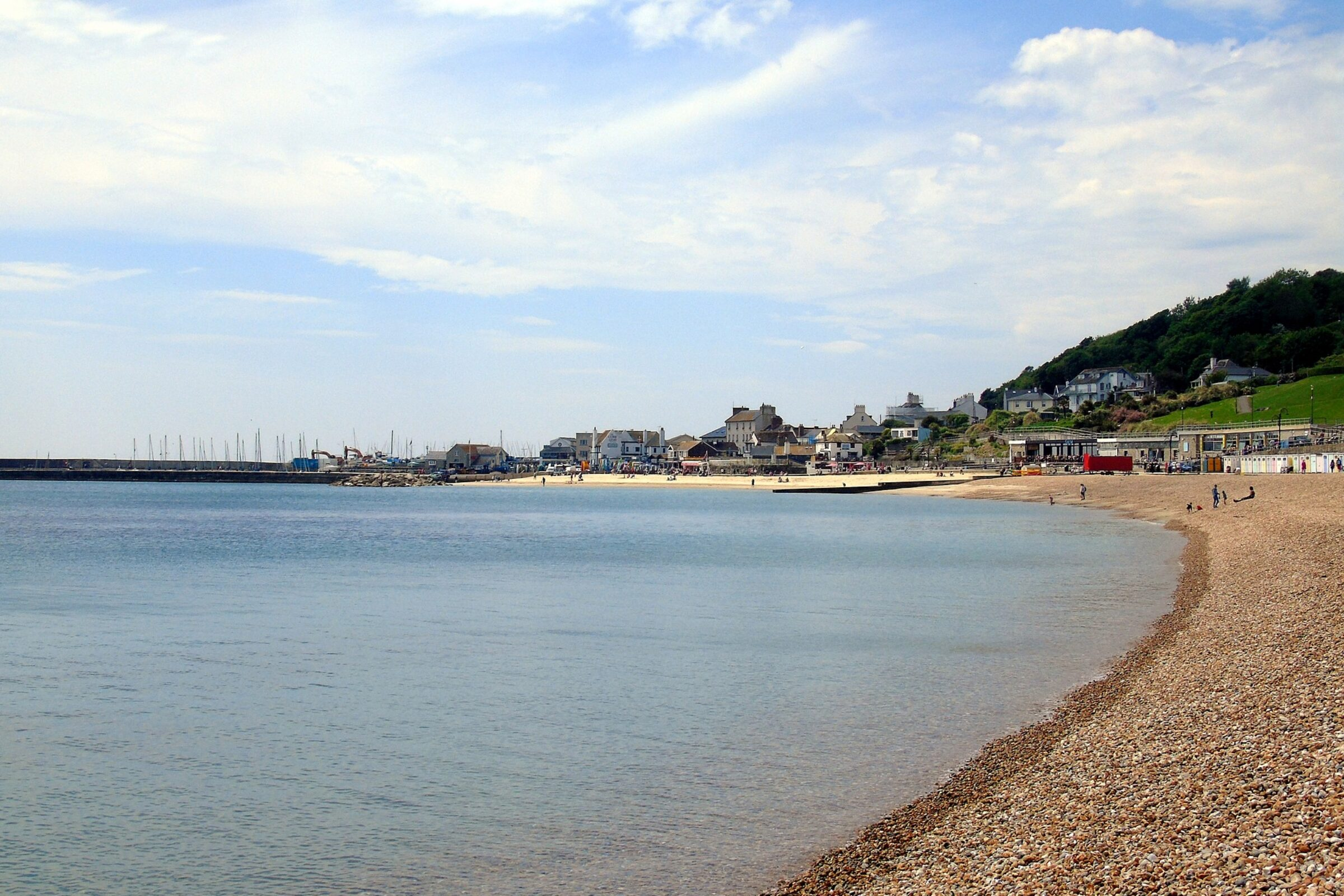 west bay town beach and harbour